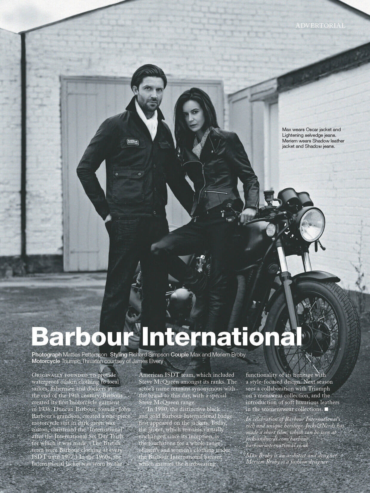 Tack-Studio-Creative-Agency-Barbour-International-Campaign-Biker-advertorial