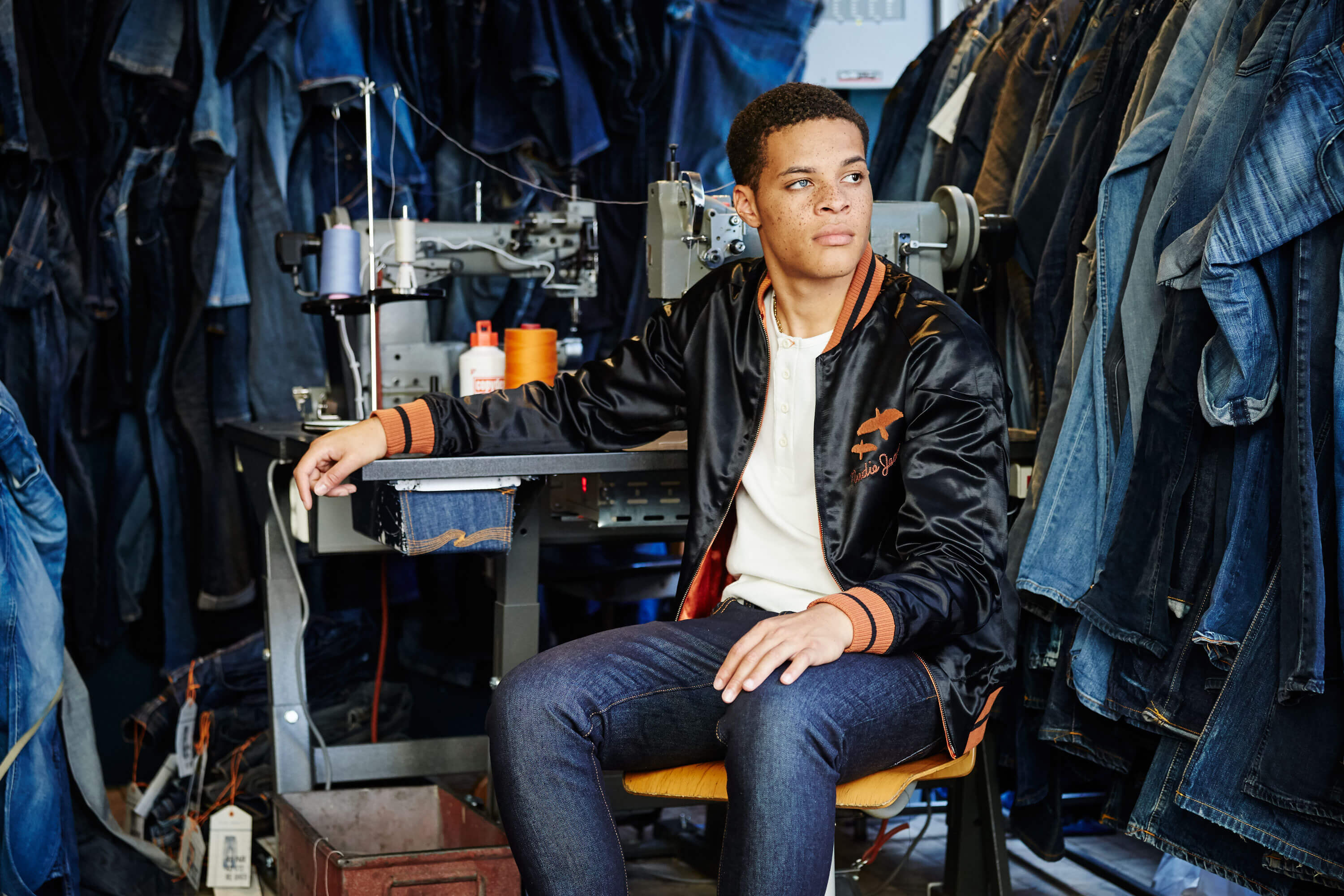 Tack-Studio-Creative-Agency-Berwick-Street-Campaign-denim-workshop-photoshoot