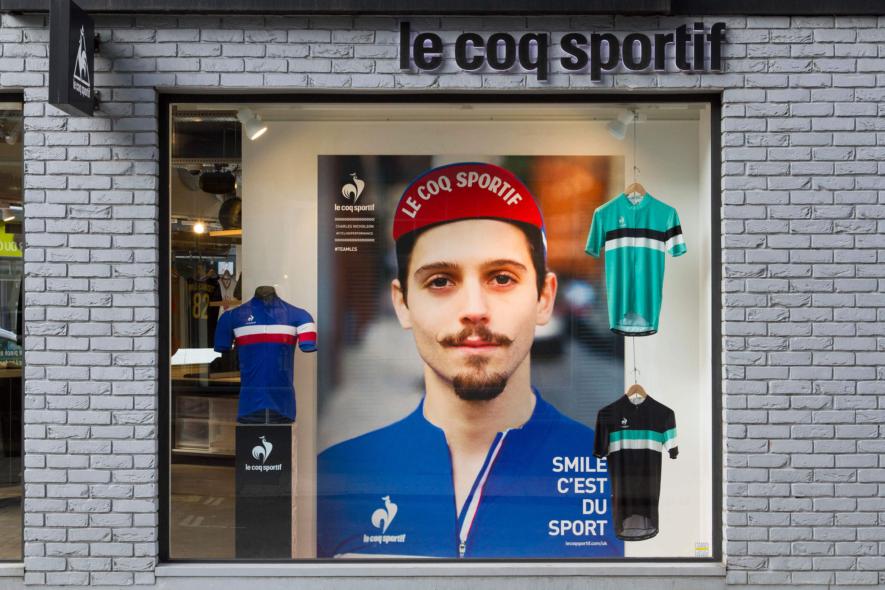 Tack Studio Creative Agency Le Coq Sportif Campaign Cycling Photoshoot