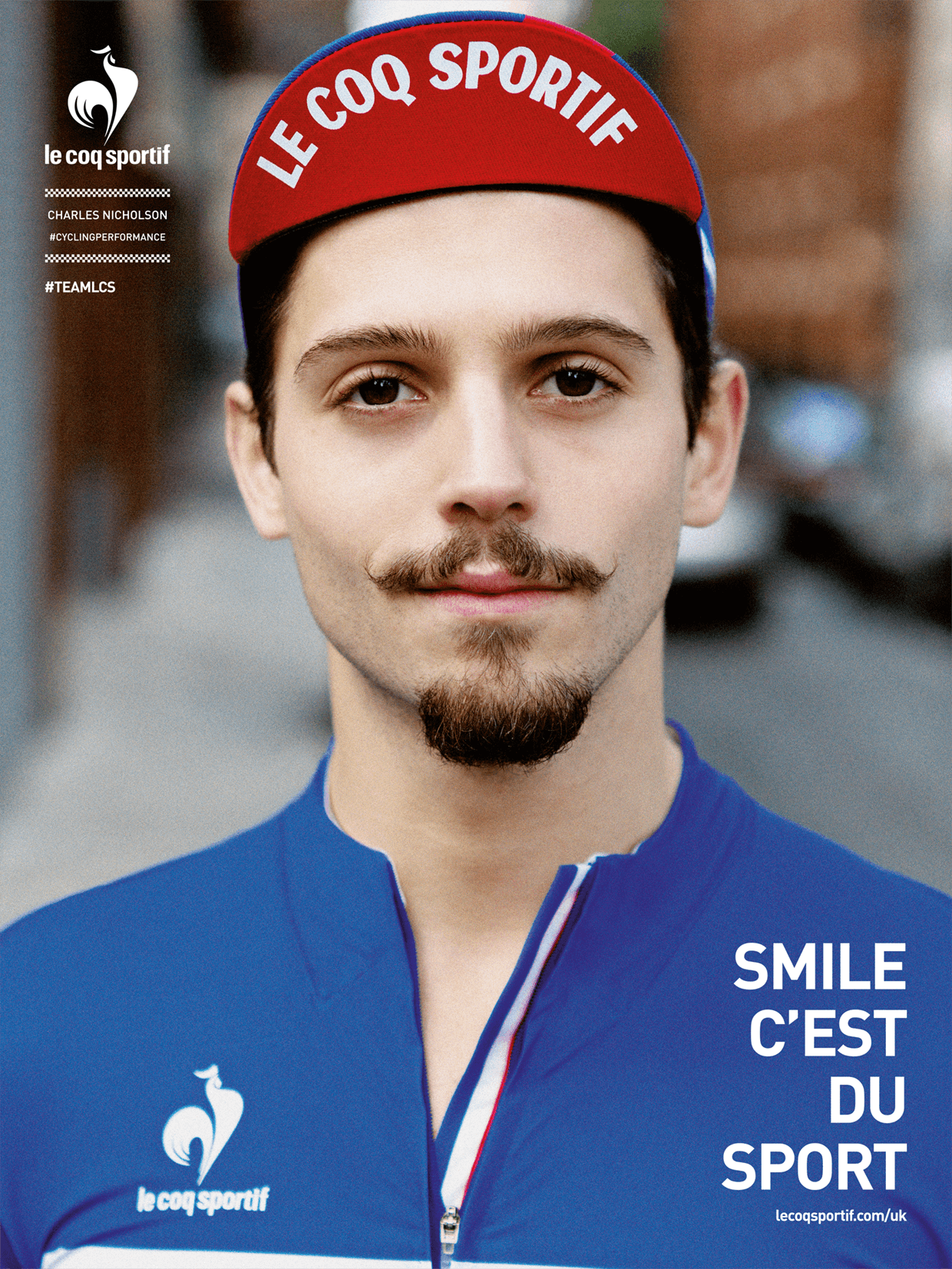 Tack Studio Creative Agency Le Coq Sportif Campaign advertisement portrait