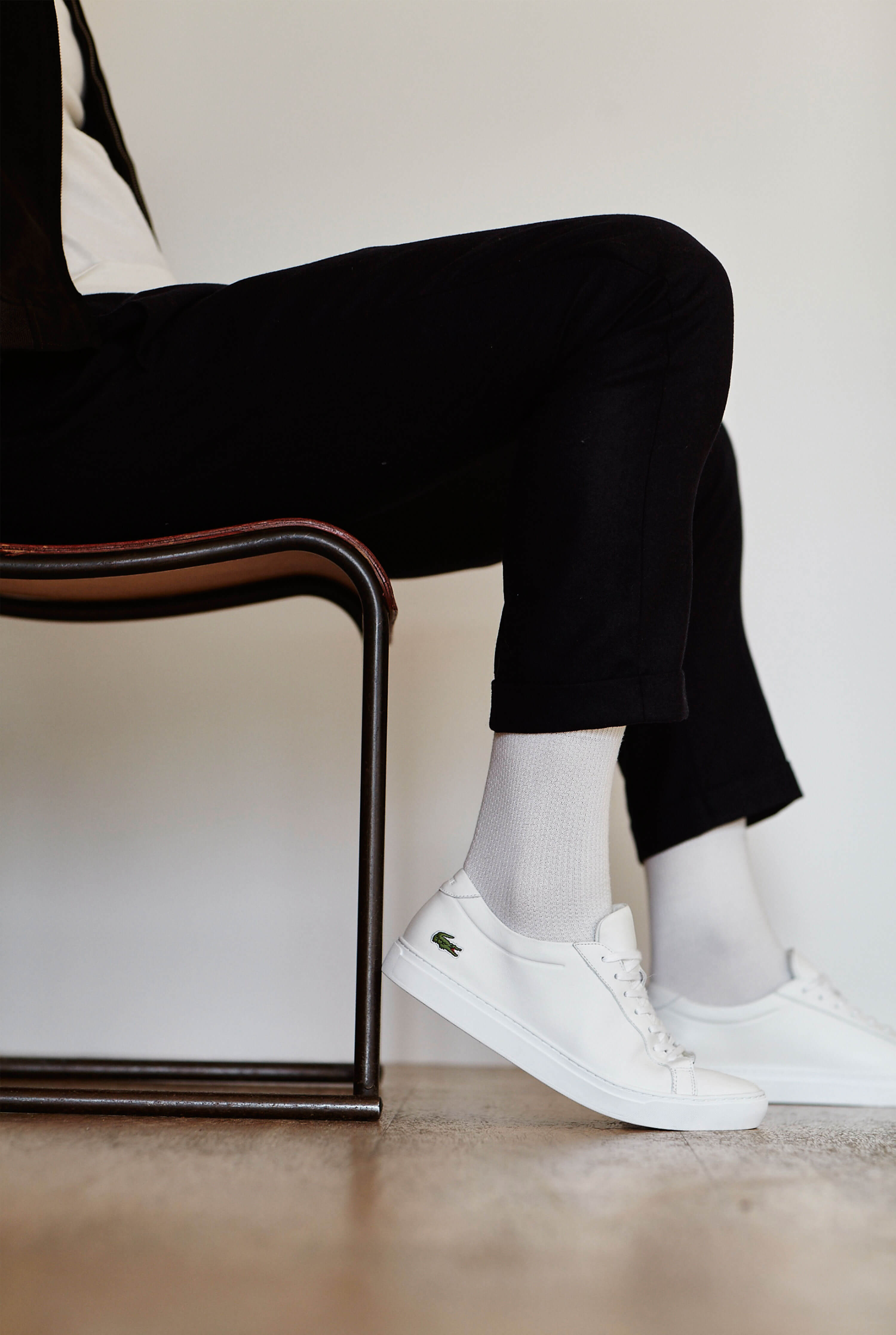 Tack Studio worked with Lacoste and designer James Patmore to bring alive the Lacoste L.12.12 shoe.