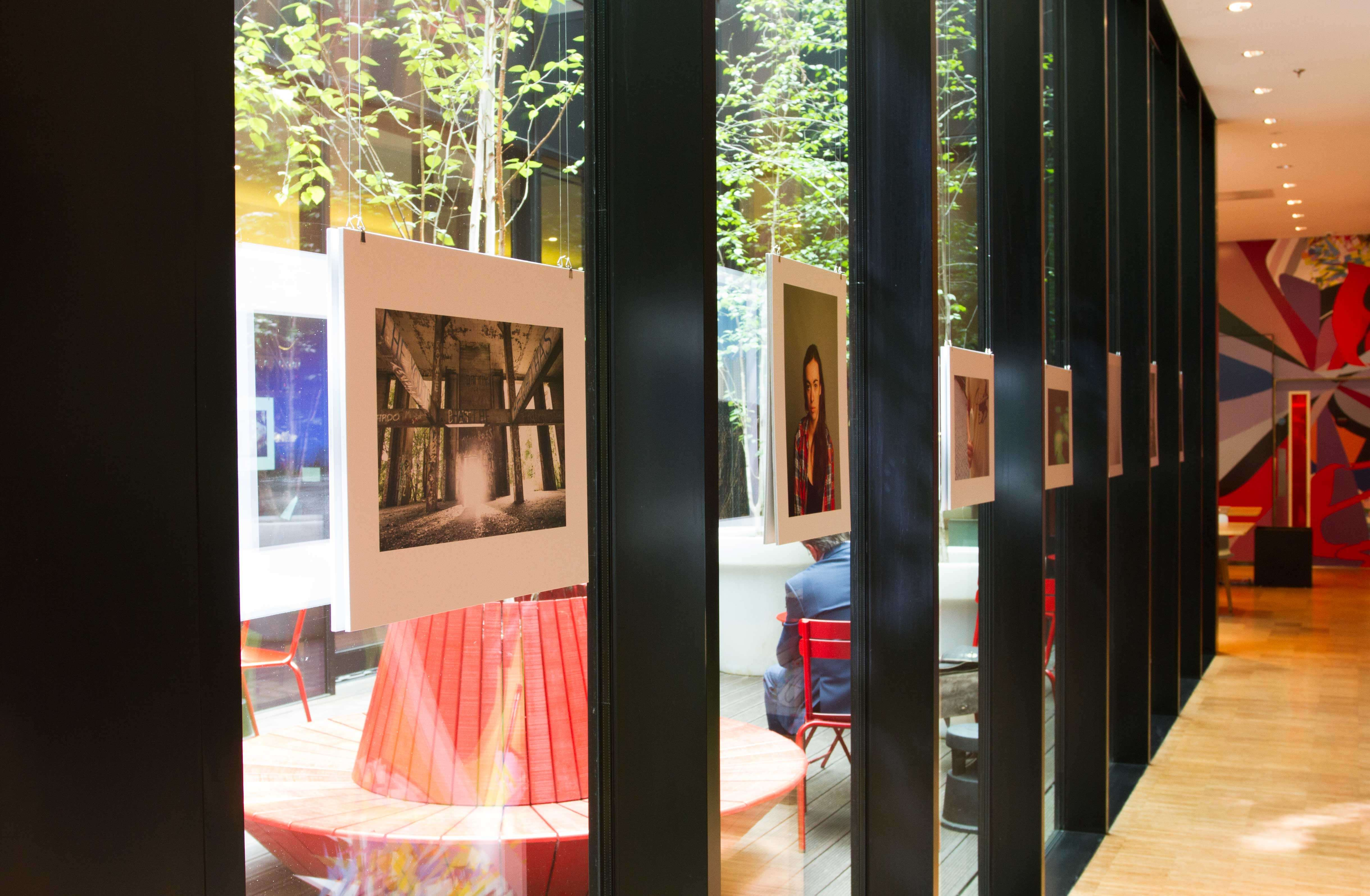 GSA exhibition at citizenM London