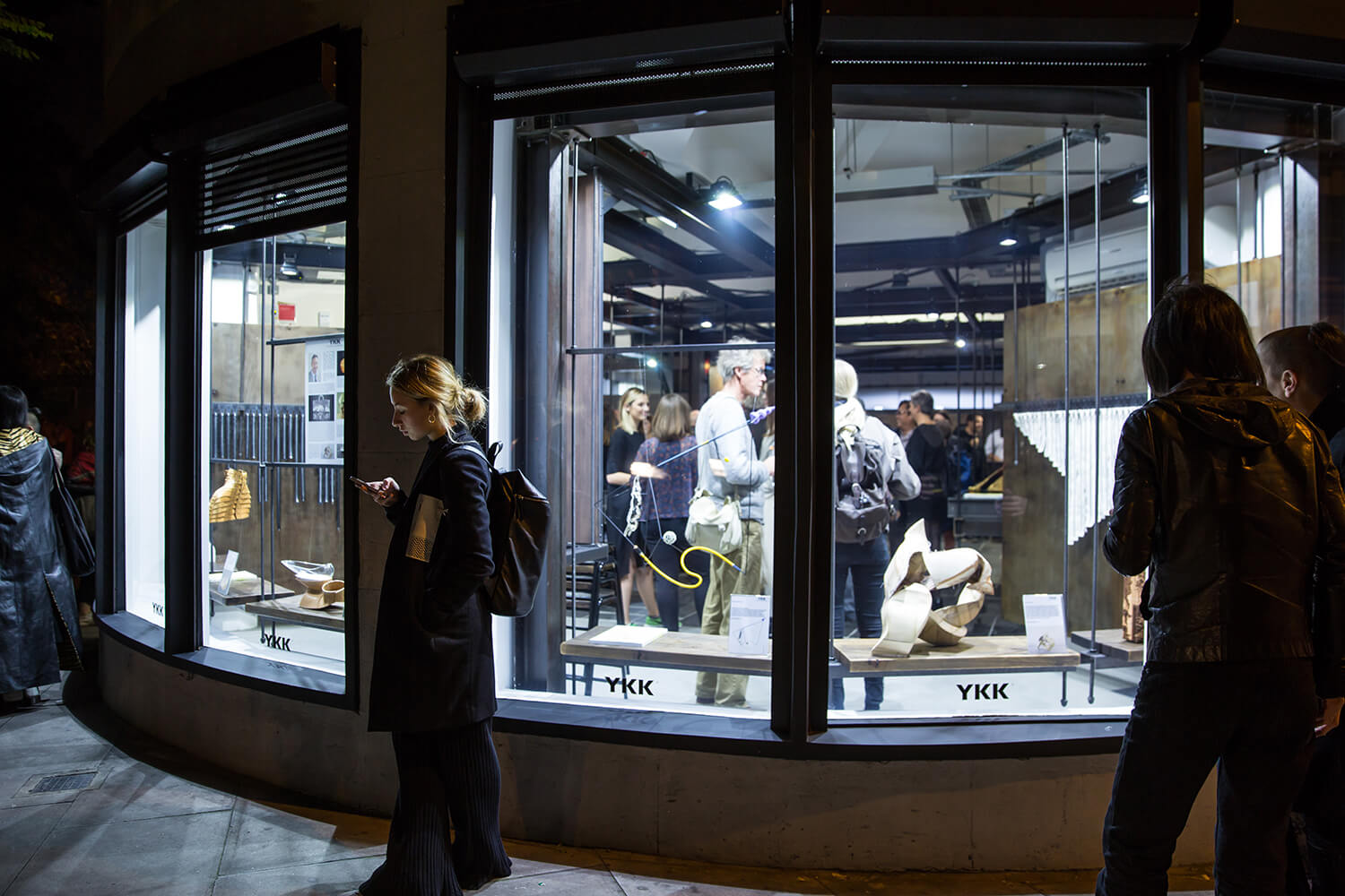 YKK London showroom